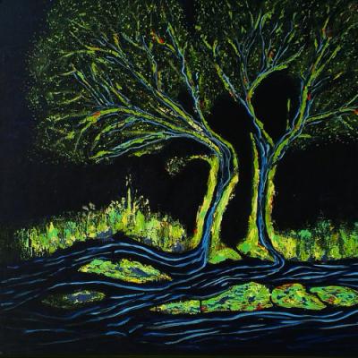Træer af sort sand og Mols - Nete Thomsen