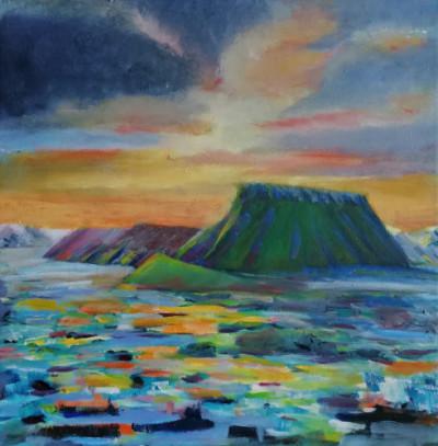 Aftenlys i højlandet - Nete Thomsen