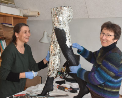 Lisbeth Støttrup og Kirsten Neimann i Aros Privathospital