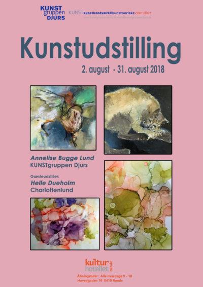 Annelise Bugge Lund udstiller på Kulturhotellet