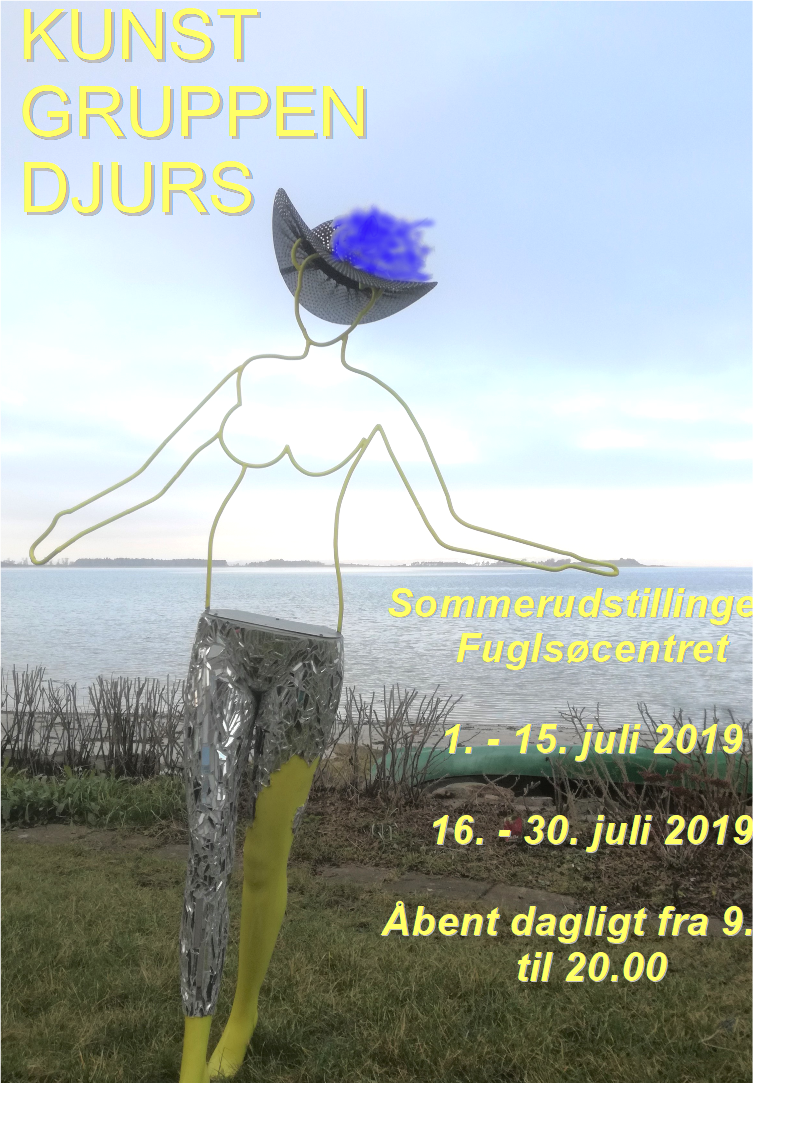 Sommerudstilling i Fuglsøcentret med kunstnere fra Kunstgruppen Djurs